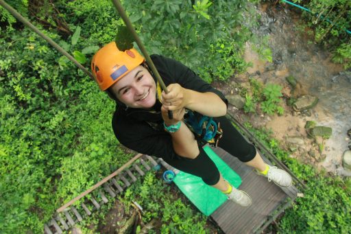 Zip Line in Northern Thailand