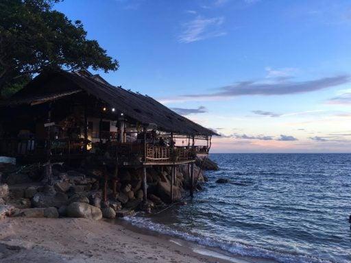 A hut on a beach in Thailand